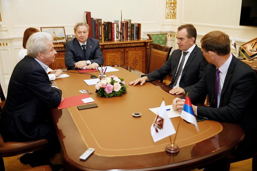 «Факты 24»: Кондратьев встретился с главой Совета Центросоюза в Москве, прошел второй день агропромышленной выставки «Золотая осень»