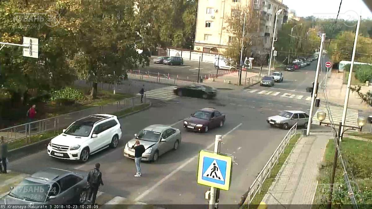 ДТП на ул. Красной и ул. Хакурате 23.10.2018