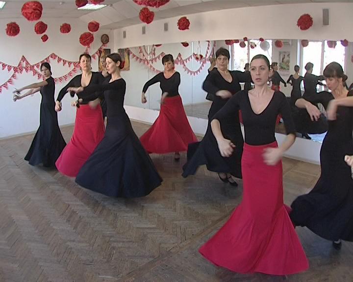 Краснодарцев научат танцевать фламенко
