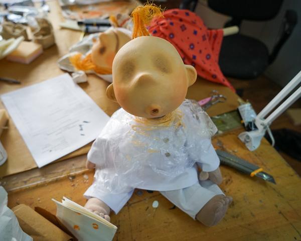 Рождение театральной куклы