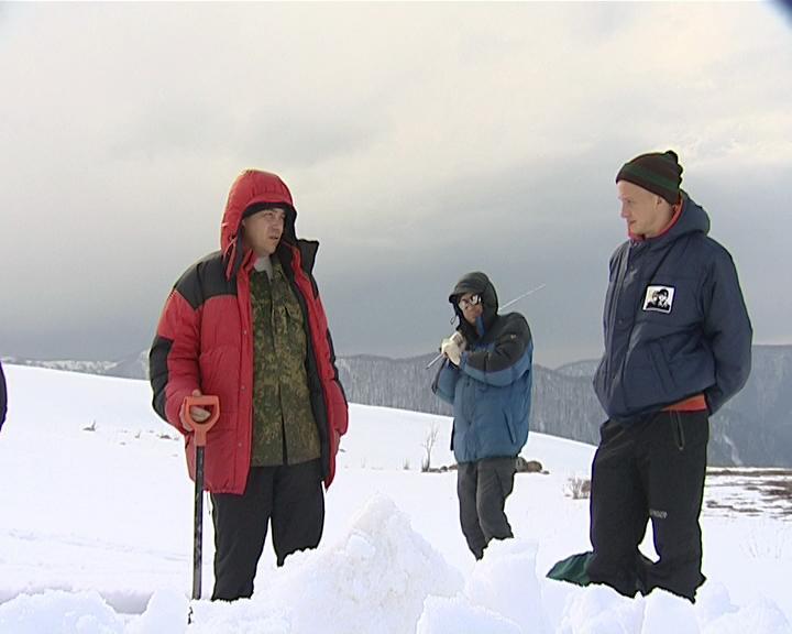 Кубанские метеорологи измерили объем снега на горе Фишт