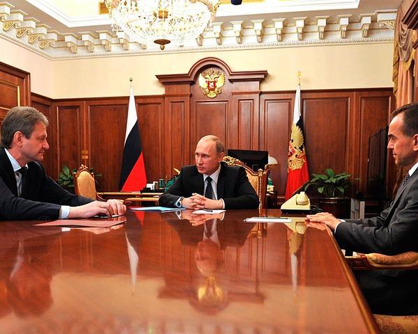 Ткачев и Кондратьев рассказали Путину о рабочих планах на новых должностях