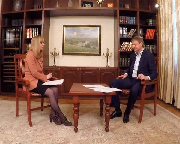 Александр Ткачев дал эксклюзивное интервью «Кубань 24»