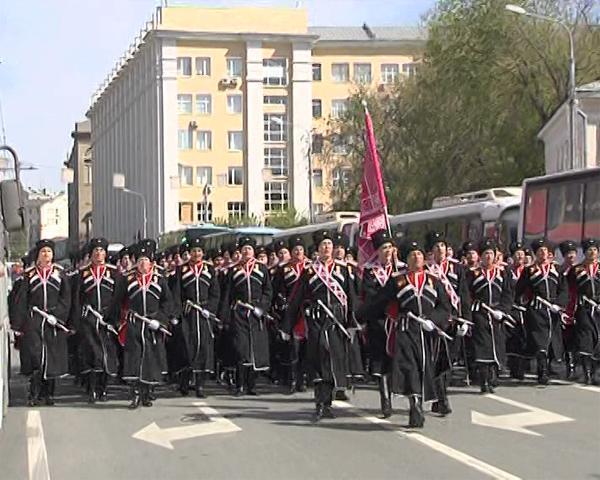 В Параде Победы в Москве приняли участие кубанские казаки
