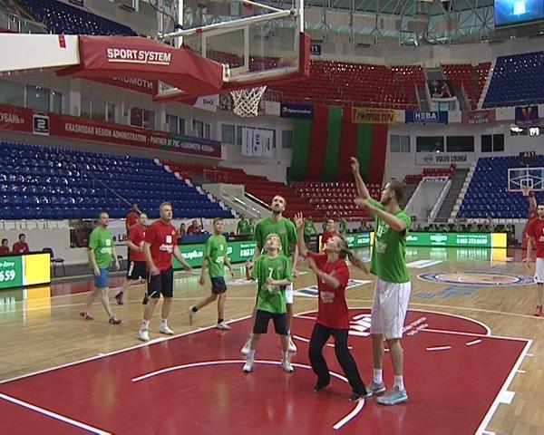 ПБК «Локомотив-Кубань» разыграл Кубок дружбы на турнире с фанатами