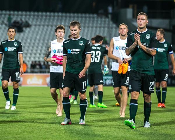 ФК «Краснодар» после матча со «Слованом» вышел в плей-офф Лиги Европы