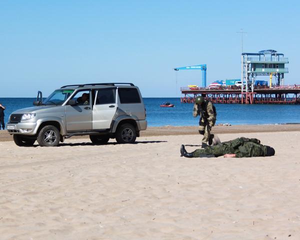 В «Орленке» прошли показательные выступления спецназа полиции