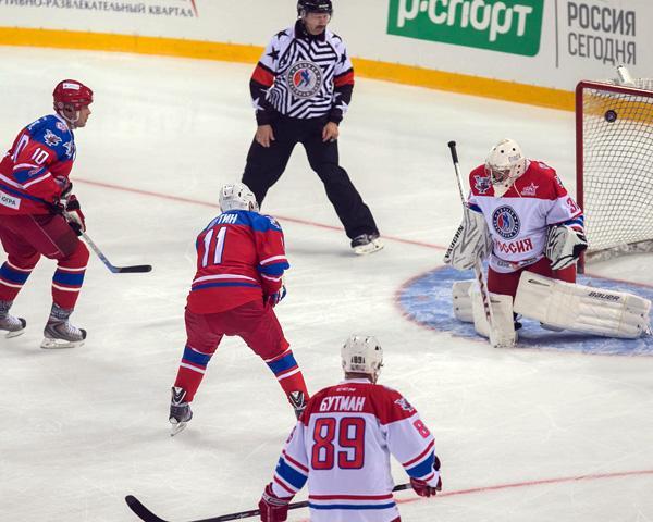 Гала-матч Ночной хоккейной лиги в Сочи завершился со счетом 15:10
