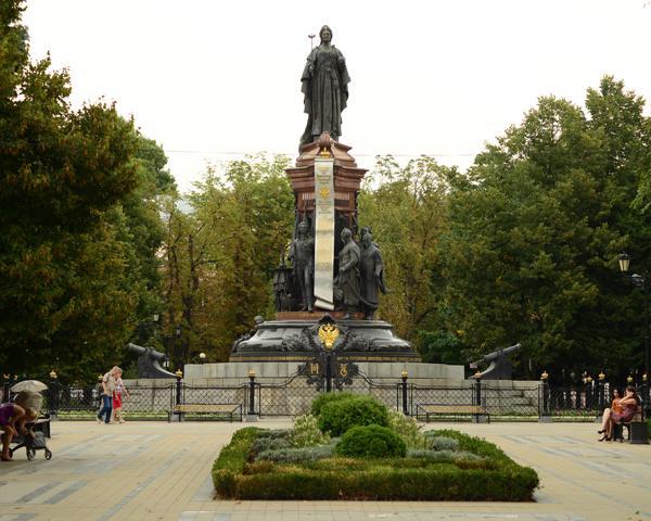 История краснодарского памятника Екатерине II