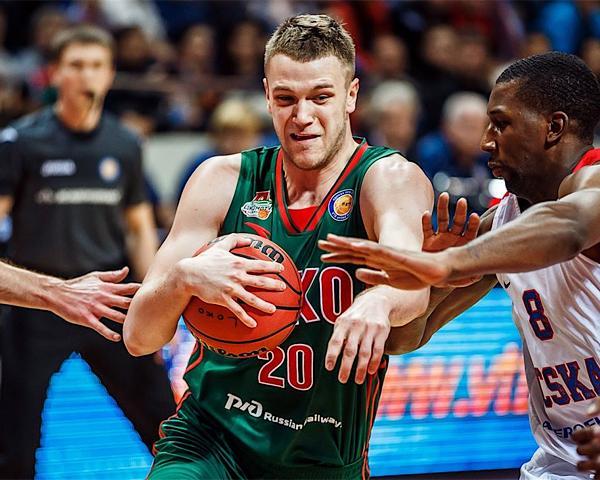 Игрок ПБК «Локомотив-Кубань» Зубков: мы были полностью готовы к игре с «Нижним Новгородом»
