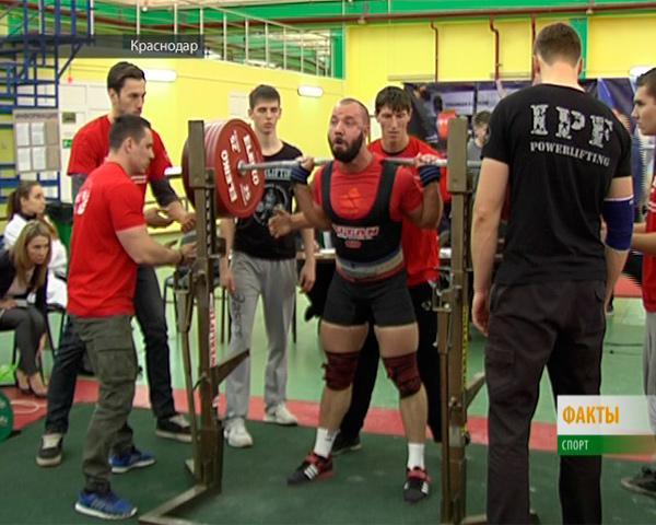 В Краснодаре прошли соревнования ЮФО и СКФО по пауэрлифтингу