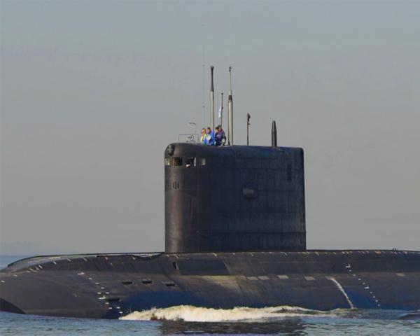 Субмарина «Ростов-на-Дону» пришвартовалась в Новороссийске