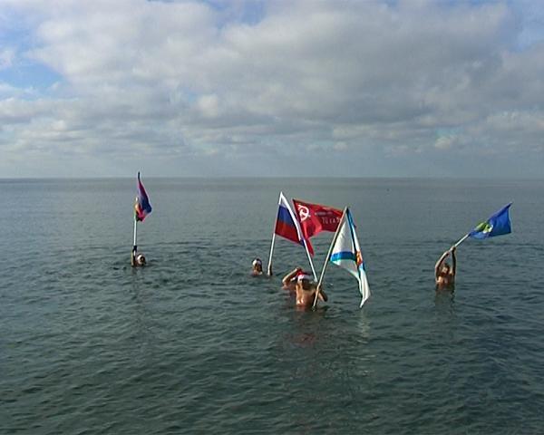 В Анапе стартовал сезон спортивного зимнего плавания