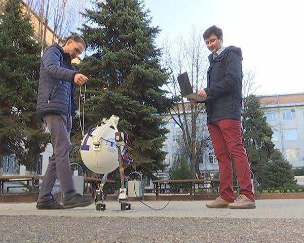 Созданный кубанскими учеными робот победил на всероссийском конкурсе стартапов в Москве
