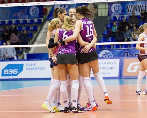 Как волейболистки краснодарского «Динамо» готовятся к 1/4 Кубка ЕКВ