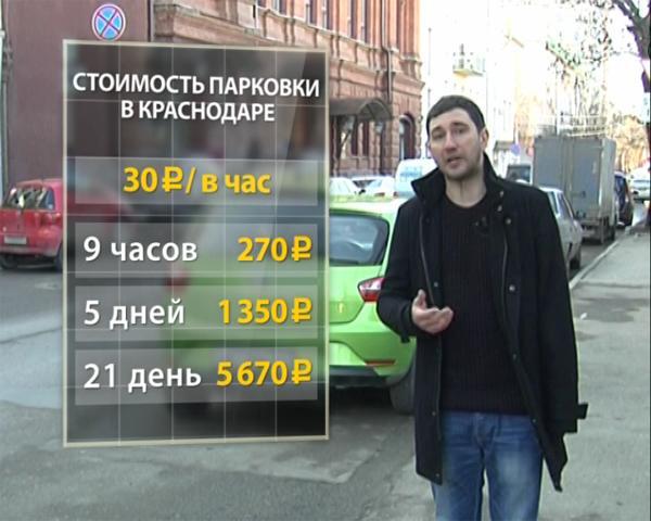 Власти Краснодара занялись разработкой плана по улучшению работы платных парковок