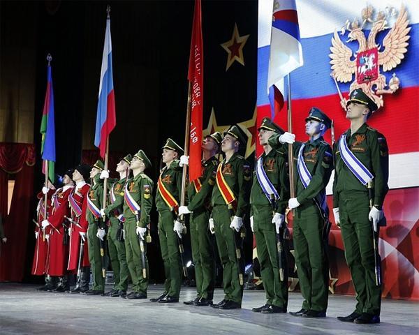В Краснодаре состоялся праздничный концерт ко Дню защитника Отечества