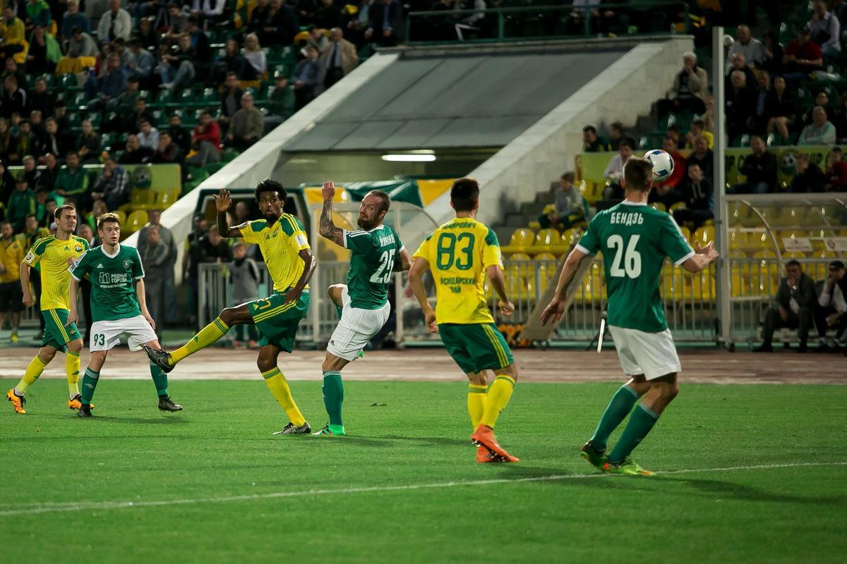 «Кубань» одержала победу в первом стыковом матче за выход в РФПЛ