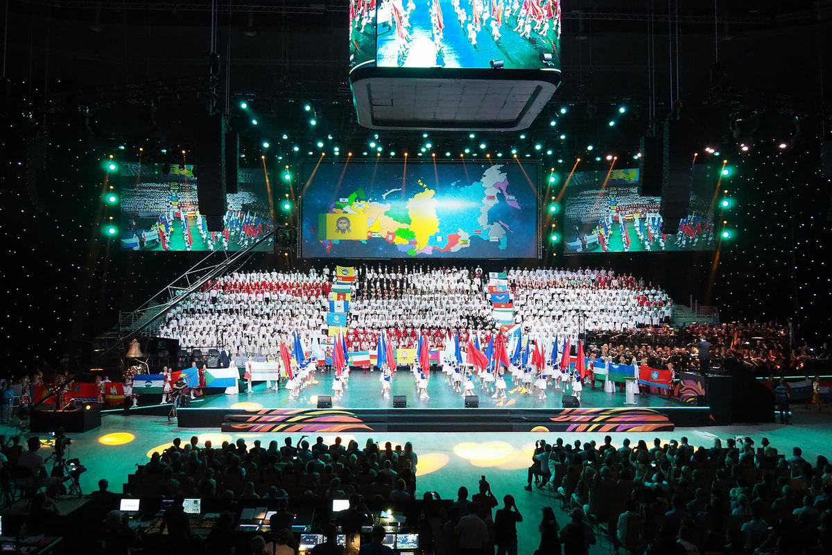 В Сочи завершился первый этап Всемирных хоровых игр