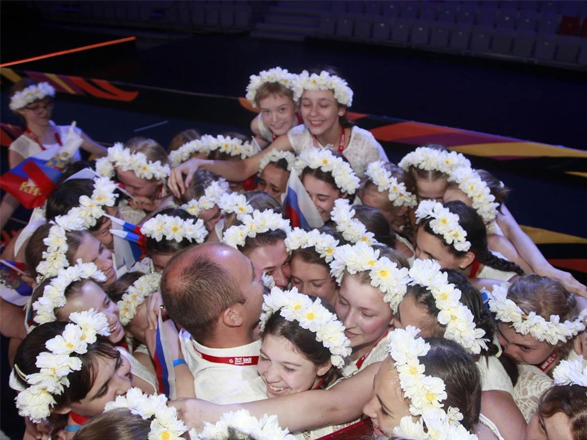 На первом этапе Всемирных хоровых игр в Сочи россияне получили 50 медалей