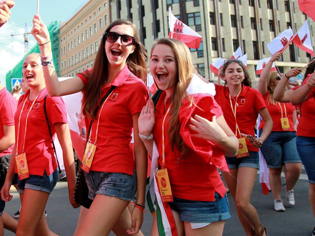 В Сочи в Параде наций приняли участие 5 тыс. участников Хоровых игр