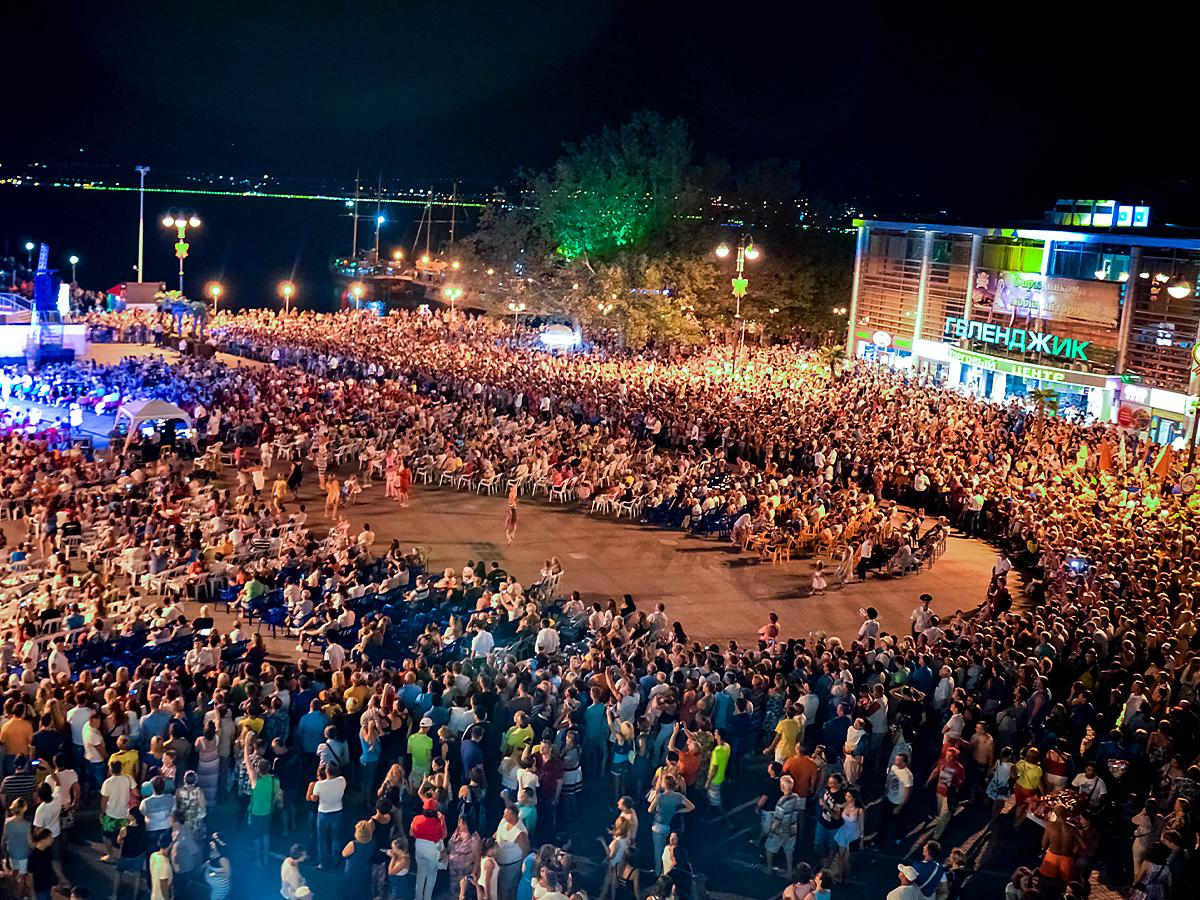 В Геленджике отпраздновали День города