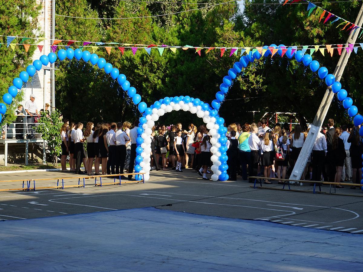 Как отметили День знаний в школах Кубани