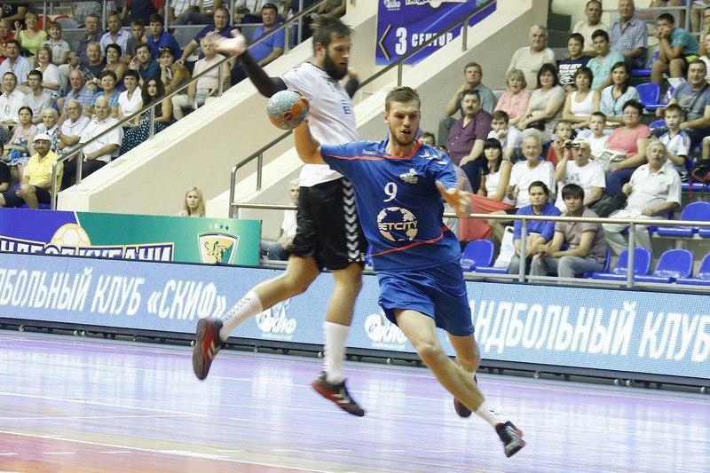 Краснодарский ГК СКИФ начал сезон с поражения от «Чеховских медведей»