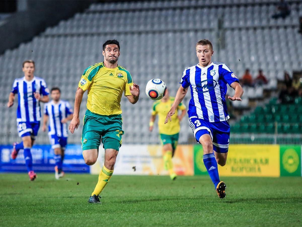Матч ФК «Кубань» с «Соколом» 12-го тура ФНЛ завершился ничьей