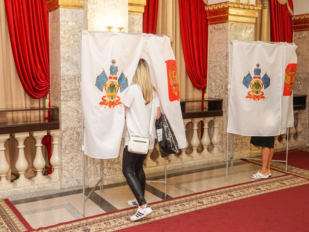 К окончанию дня голосования явка избирателей в Краснодаре превысила 40%