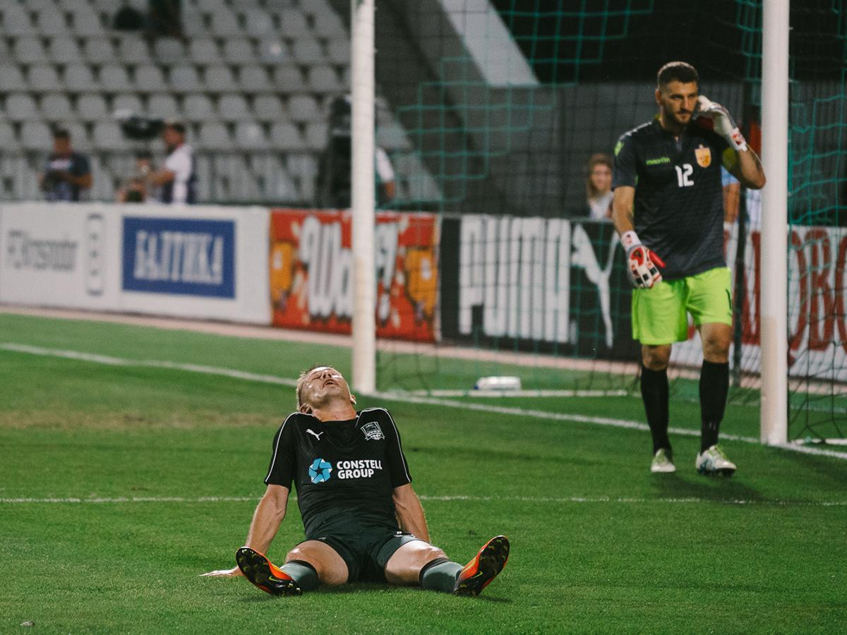 ФК «Краснодар» выиграл второй матч под руководством Шалимова