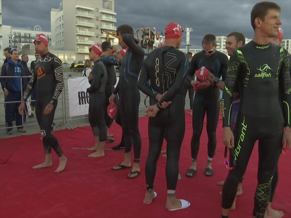 В Сочи прошли чемпионаты края и страны по триатлону