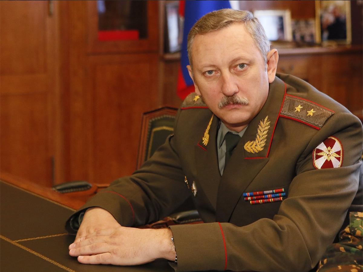 Кондратьеву представили нового командующего войсками Нацгвардии в крае