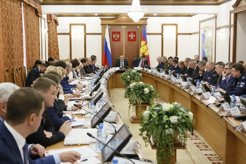 Глава Кубани провел заседание антитеррористической комиссии