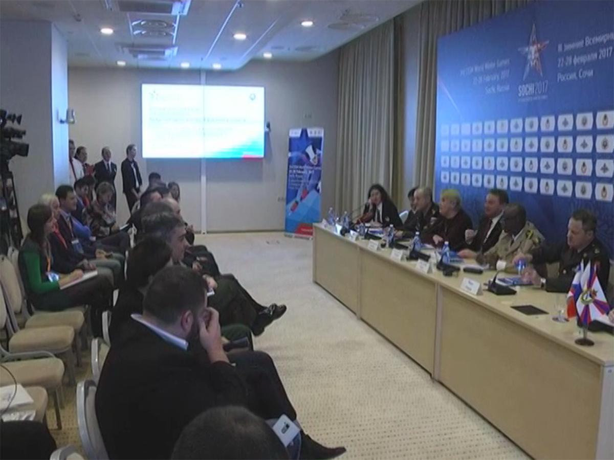 В Сочи в День защитника Отечества стартуют Всемирные военные игры
