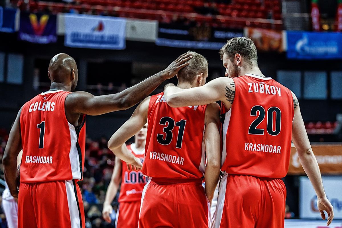 Во втором групповом этапе Еврокубка ПБК «Локомотив-Кубань» встретится с тремя испанскими командами