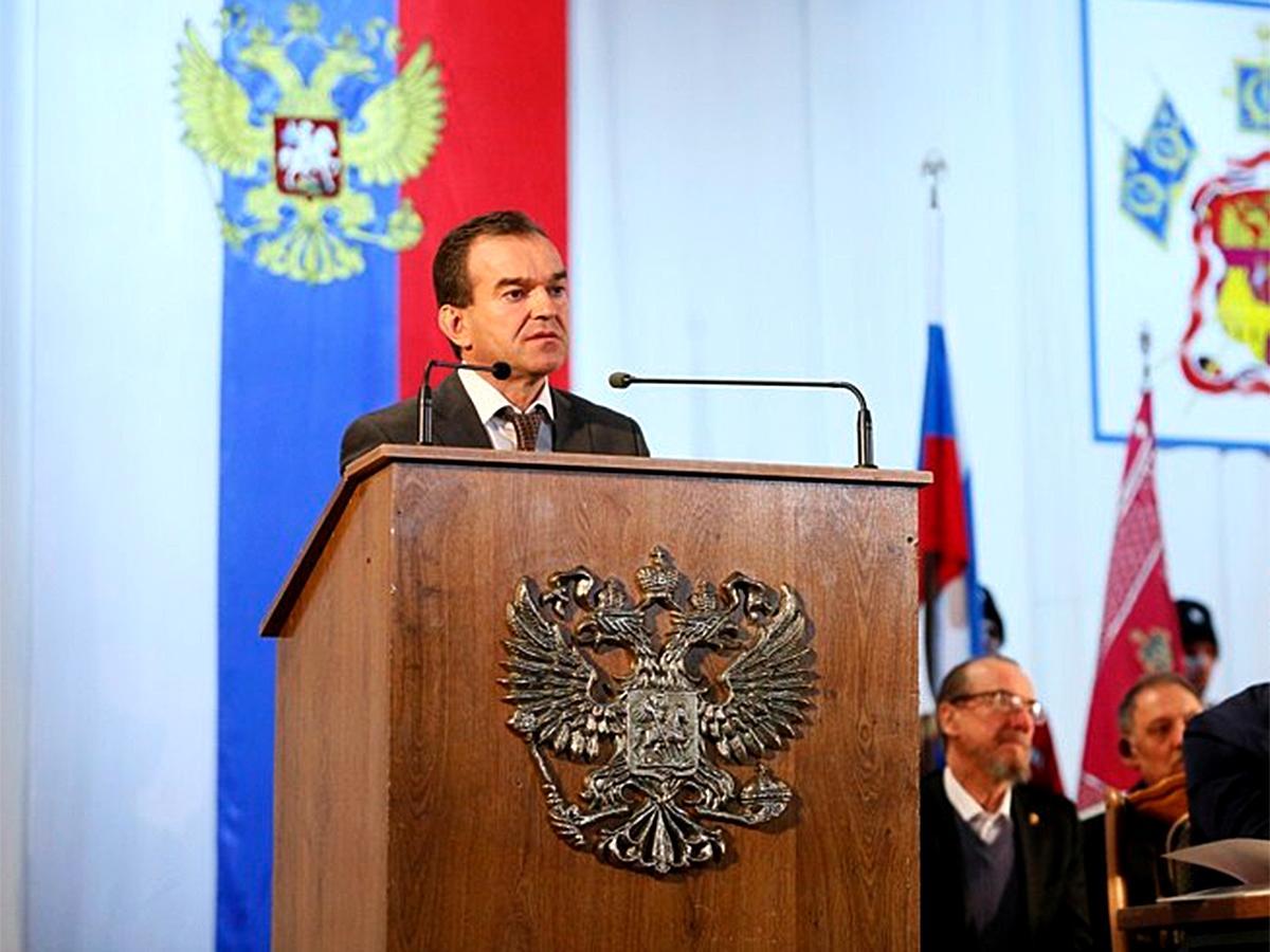 В Краснодаре прошел отчетный сбор Кубанского казачьего войска