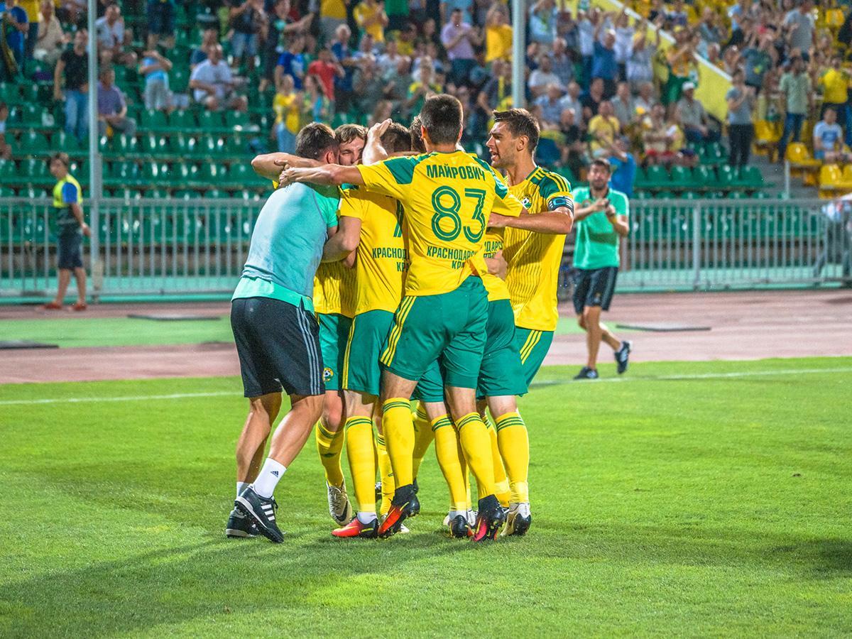 Как ФК «Кубань» провел 2016 год