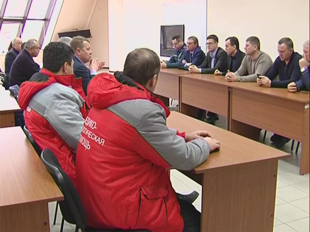 Оперативный штаб в Сочи будет действовать до окончания поисковых работ в месте падения Ту-154