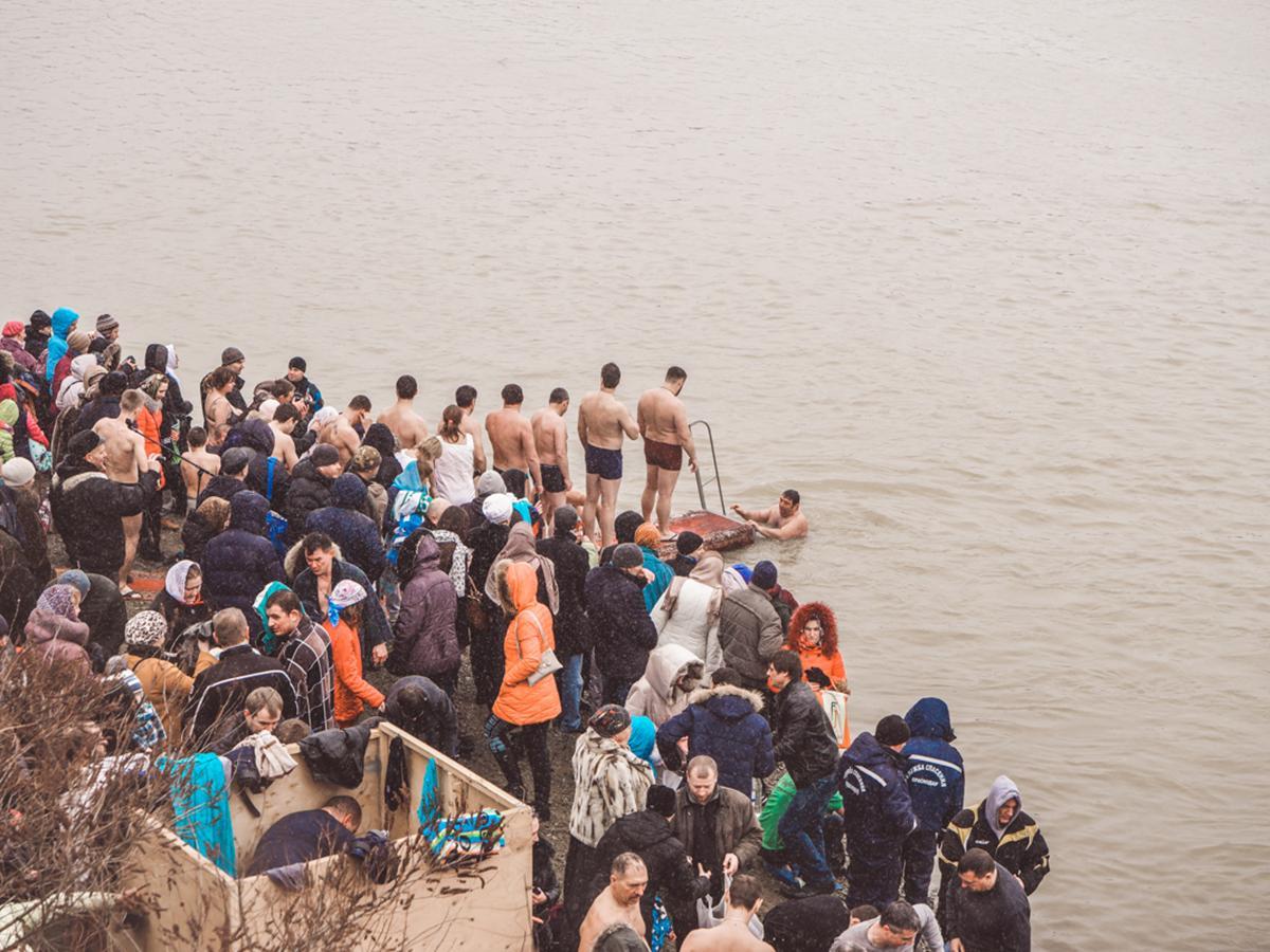 На Кубани православные верующие отметят Крещение