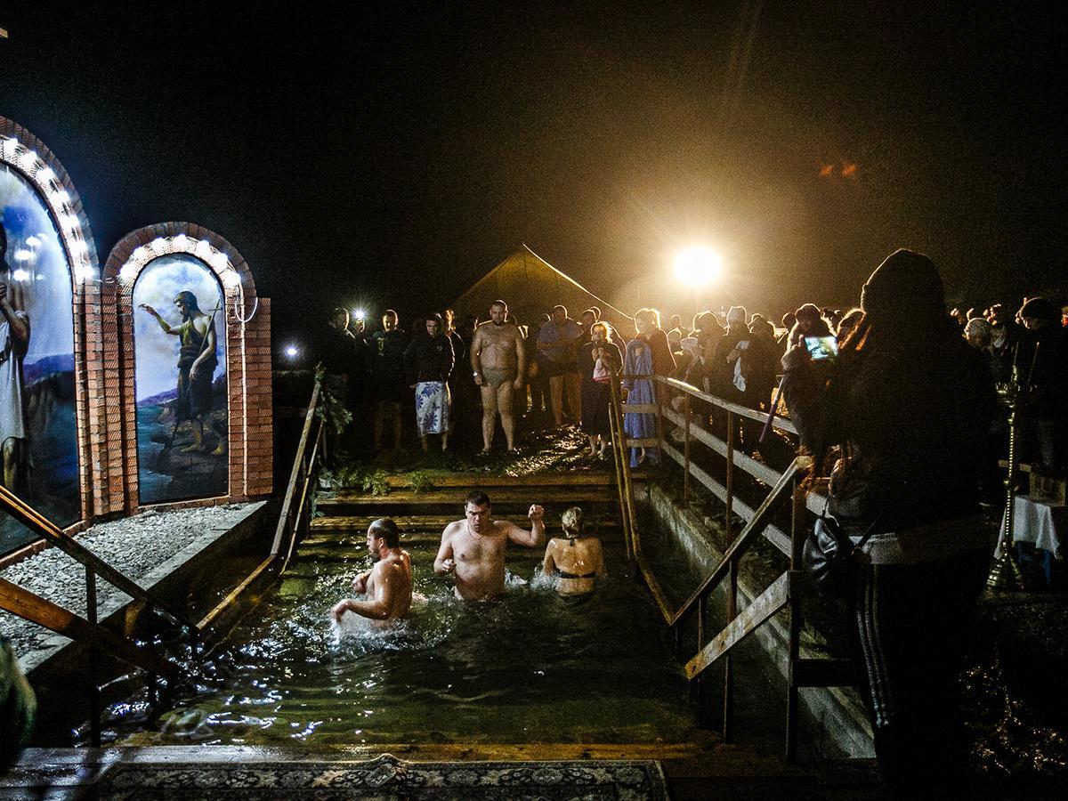 Как жители Кубани отметили Крещение Господне