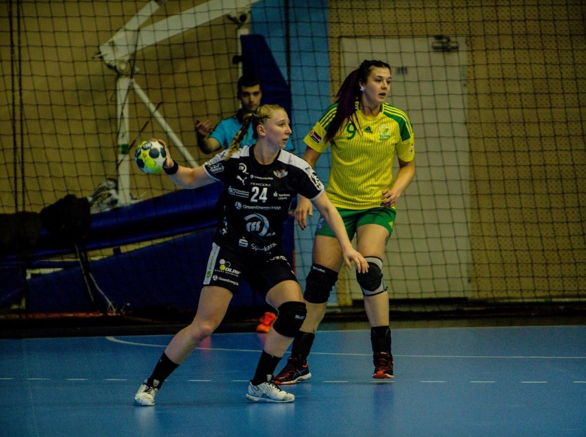 Гандболистки «Кубани» приняли «Лейпциг» в третьем туре группового этапа Кубка ЕГФ