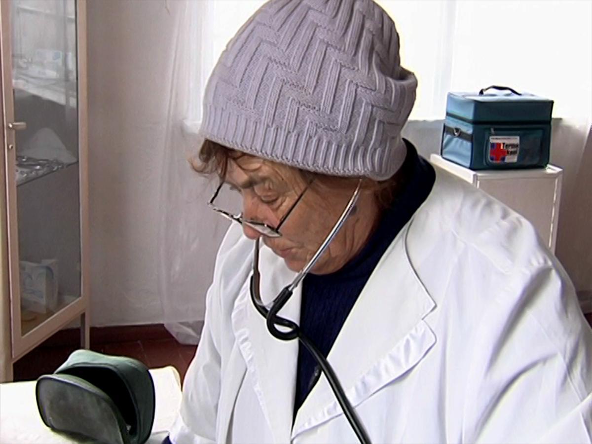 В селе Подхребтовое Туапсинского района больше 40 лет работает один фельдшер