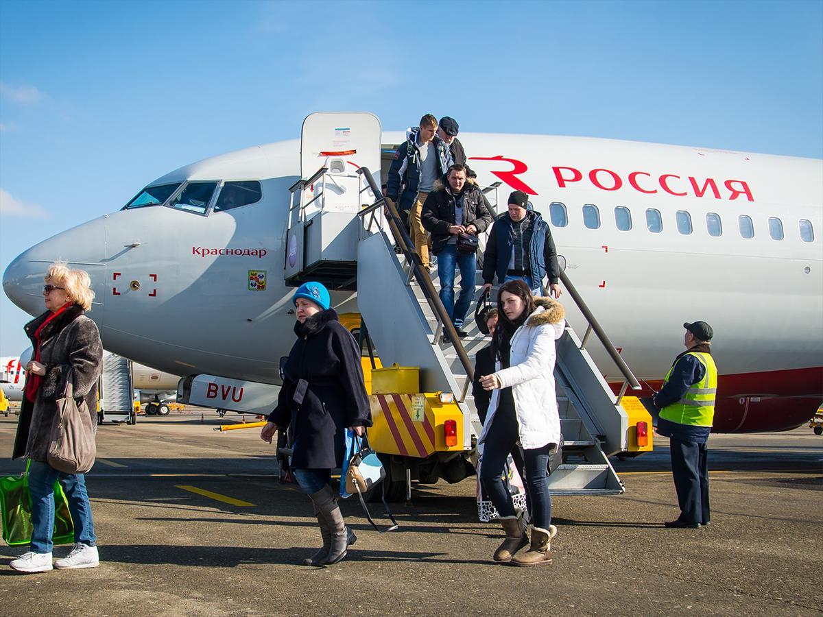 Самолет «Краснодар» прилетел в краевой центр