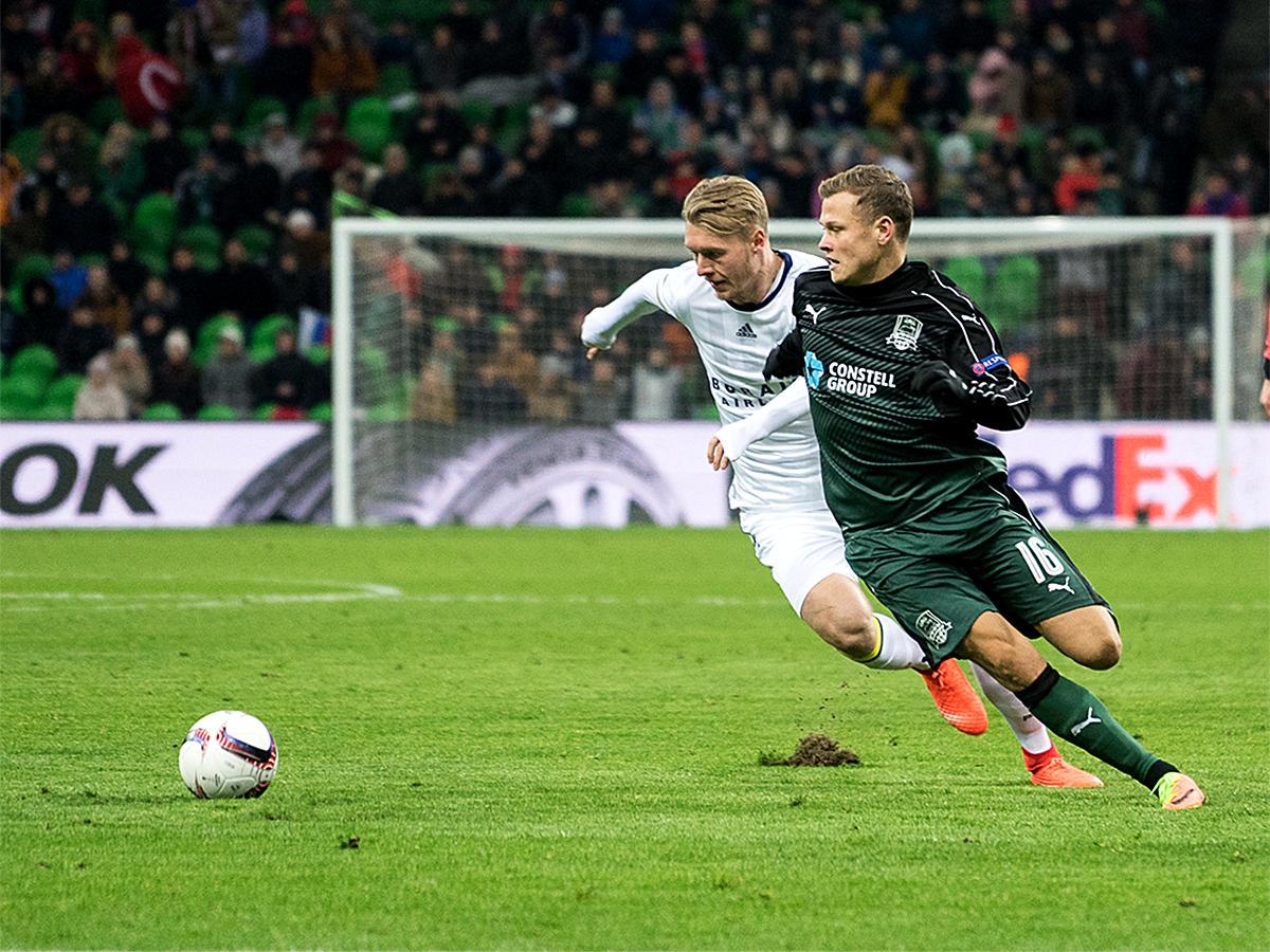 ФК «Краснодар» провел первый официальный матч в 2017 году