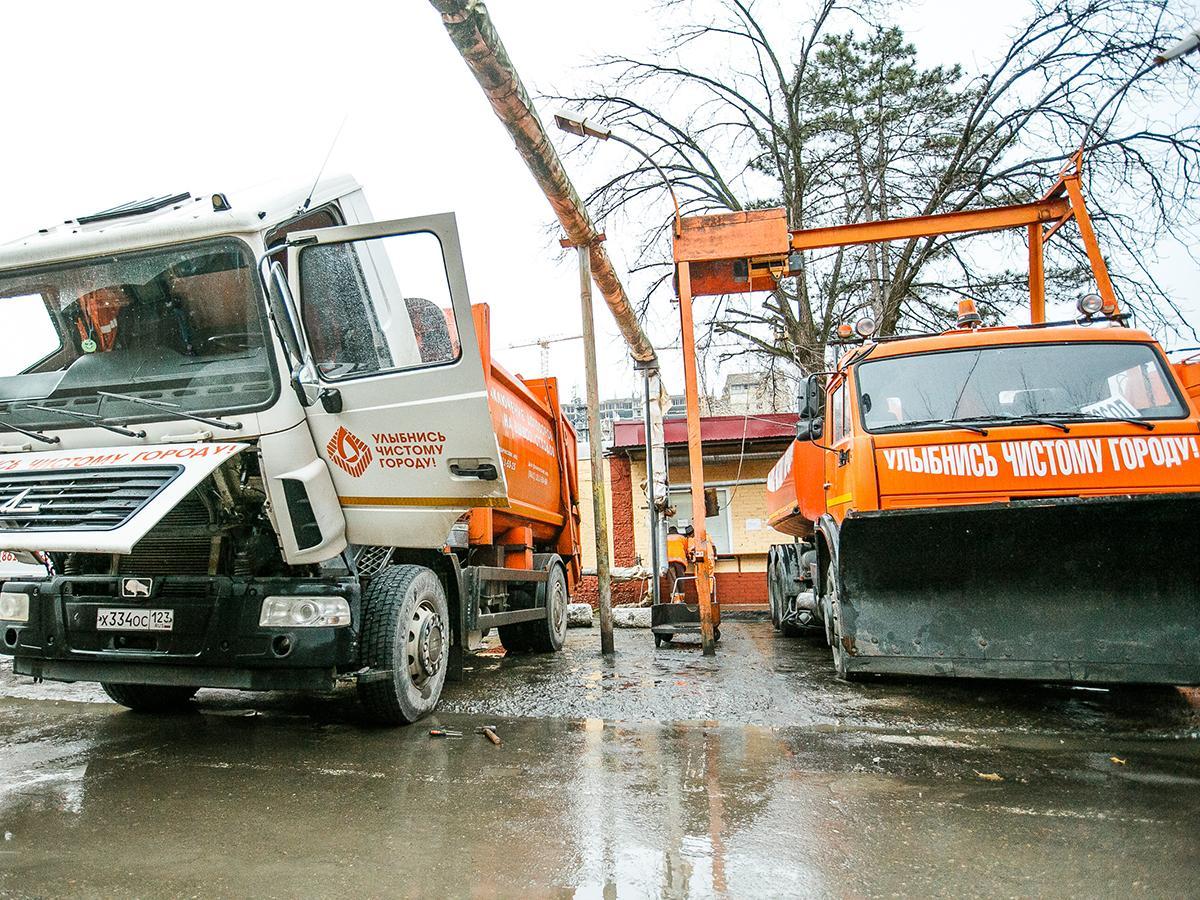 В Краснодаре и Динском районе определили единого мусороуборочного оператора