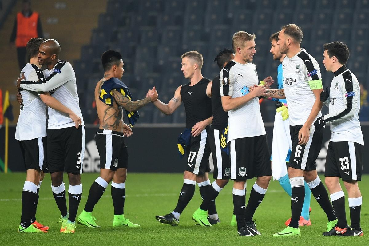 ФК «Краснодар» впервые в истории вышел в 1/8 финала Лиги Европы