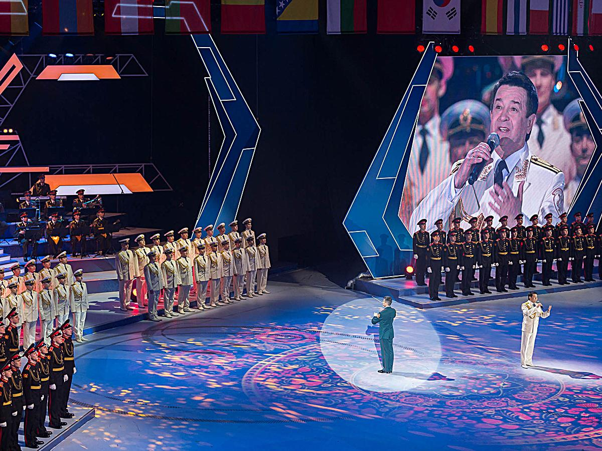 На III Всемирных зимних военных играх россияне завоевали более 40 медалей