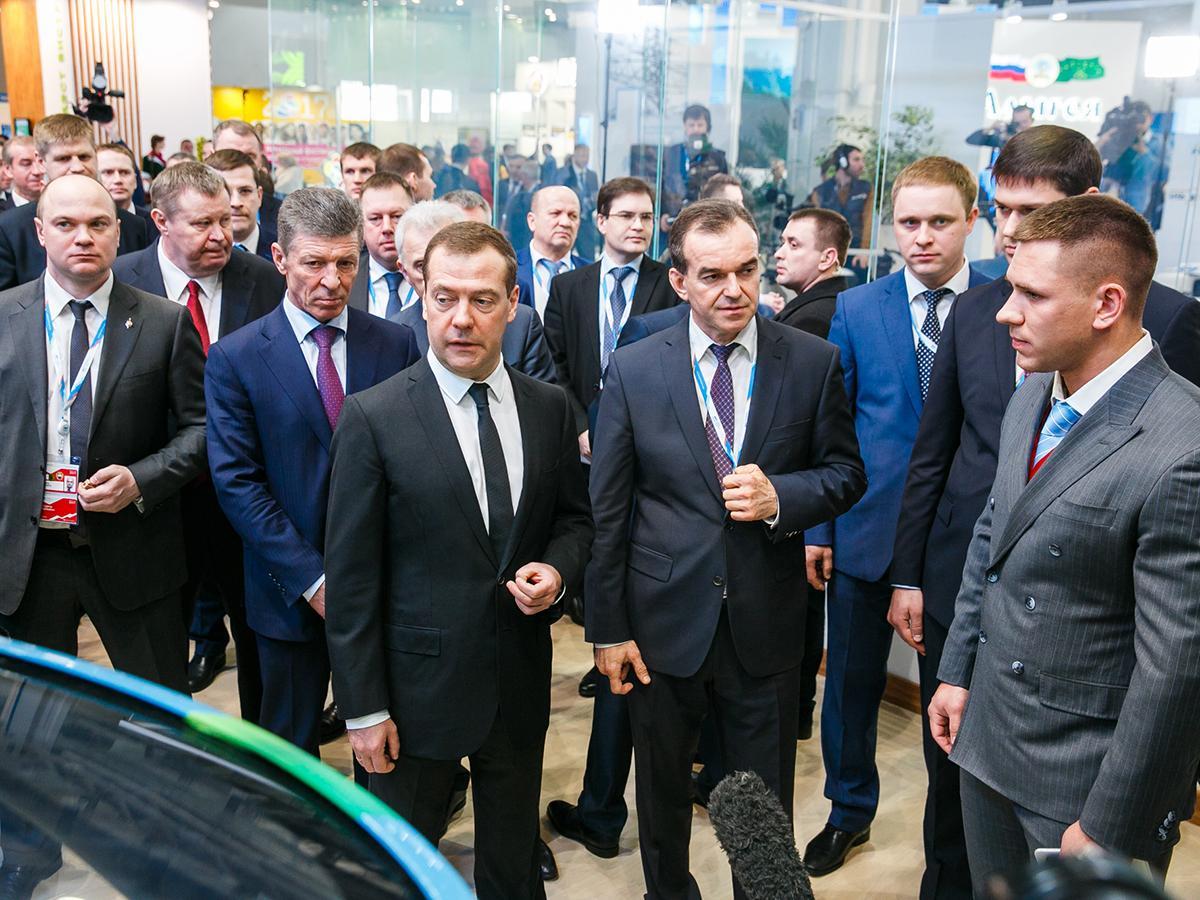 Кубань выставила на форуме в Сочи проекты на площадках предприятий-банкротов