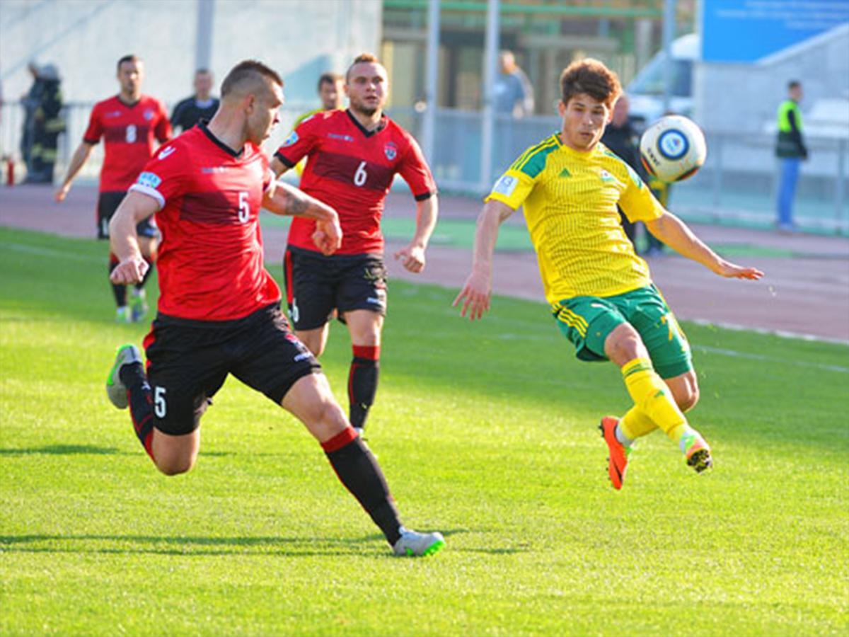ФК «Кубань» после зимнего перерыва сыграл с «Химками»
